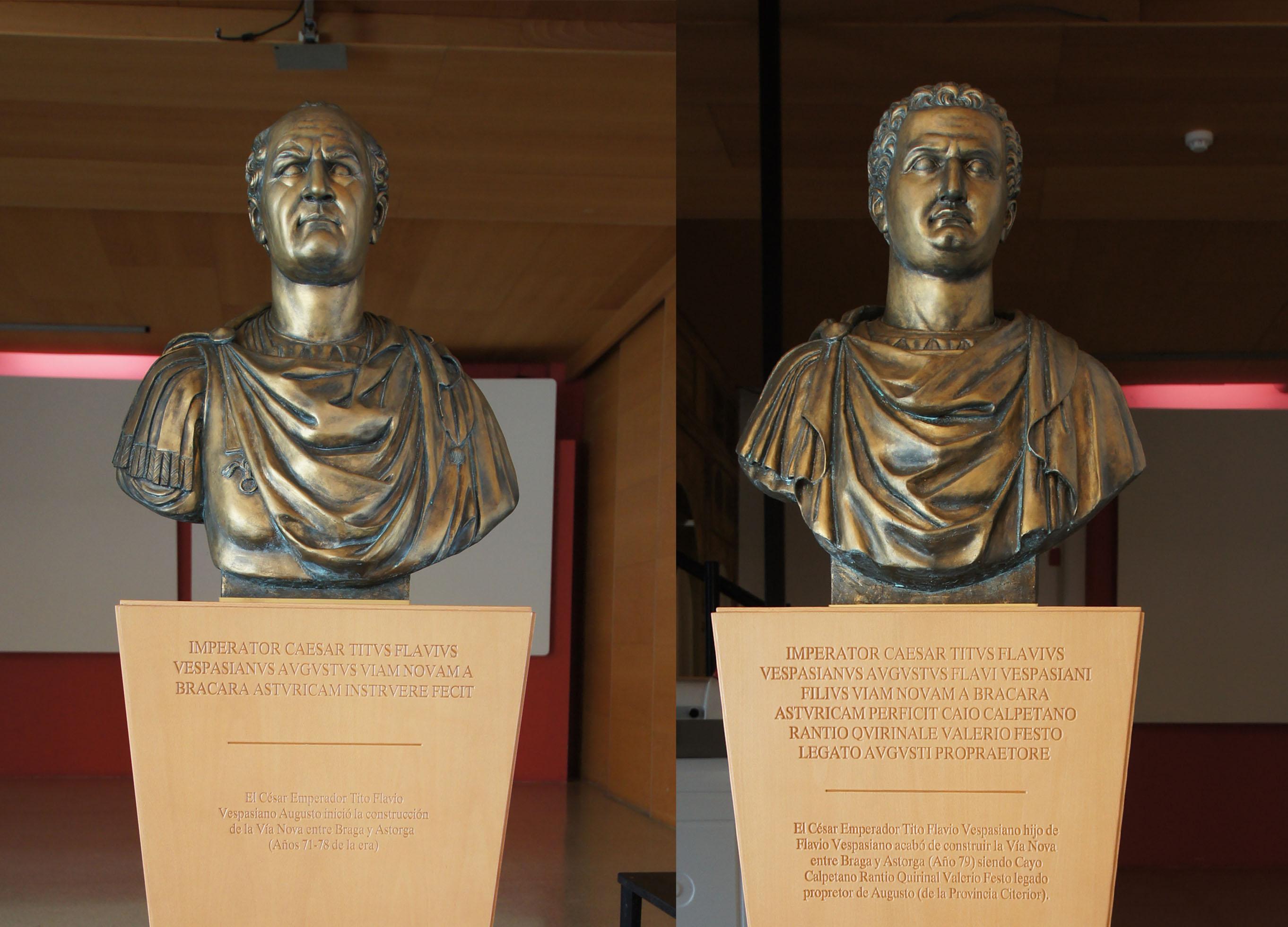 Emperadores Dinastía Flavia