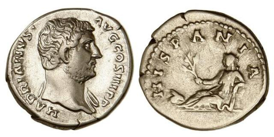 Allegory of Hispania in Numismatics