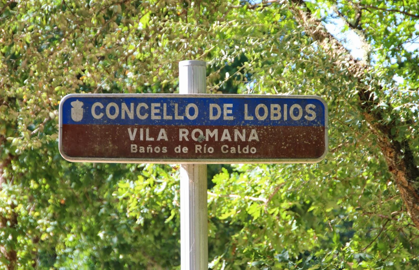 Cartel - Concello de Loibos - Vila Romana