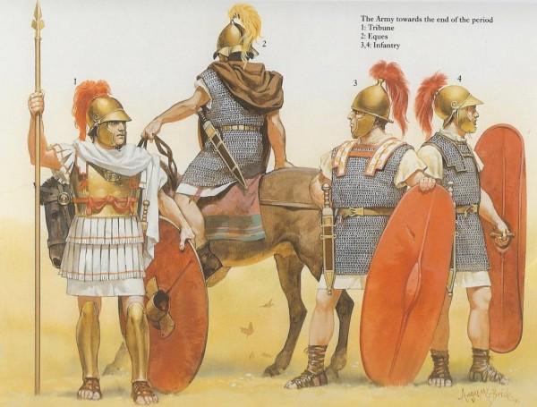Tipos de Legión manipular tardía (A. McBride)