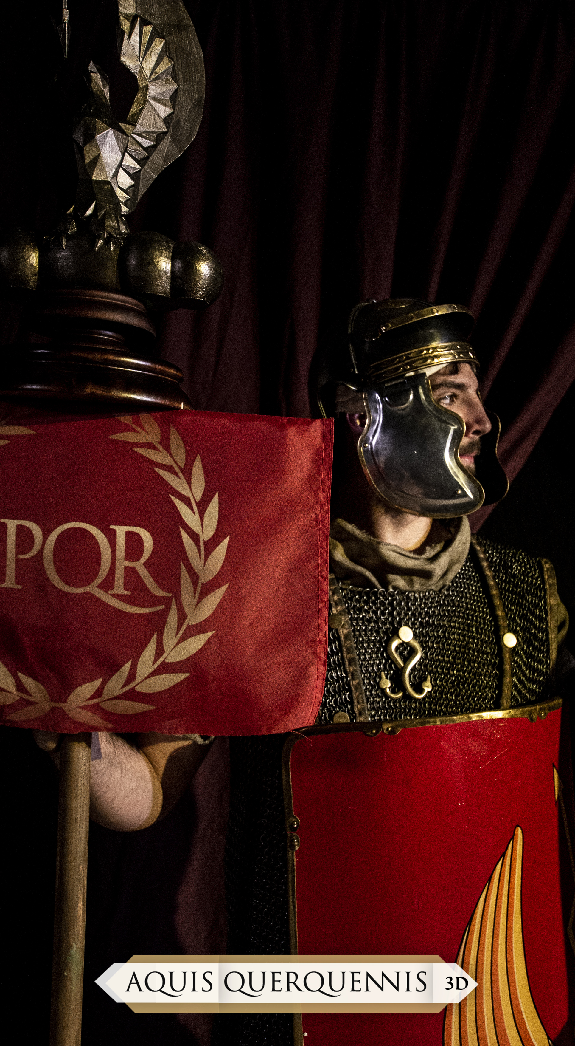 Roman Legionary Representation - AquisQuerquennis3D - Making Of